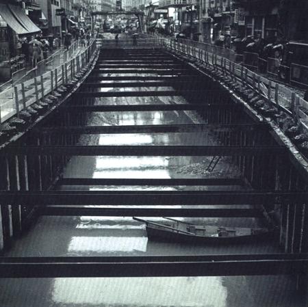 1975 – VRD (Dévoiements réseaux Métro A de Lyon)